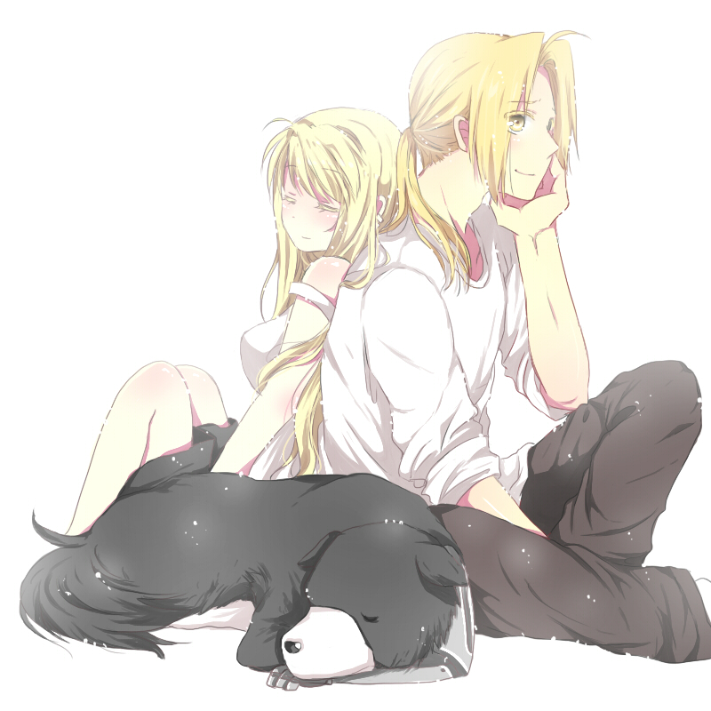 blonde den winry and - photo #2