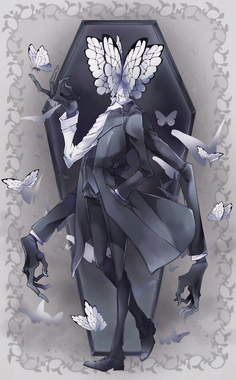 Funeral Of The Dead Butterflies - Lobotomy Corporation - Image #3053627 - Zerochan Anime Image Board