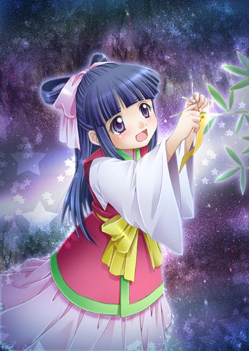 Tags: Anime, Hiyori (Pixiv61101), Higurashi no Naku Koro ni, Furude Rika, Orihime (Goddess), Tanabata, Fanart, Pixiv