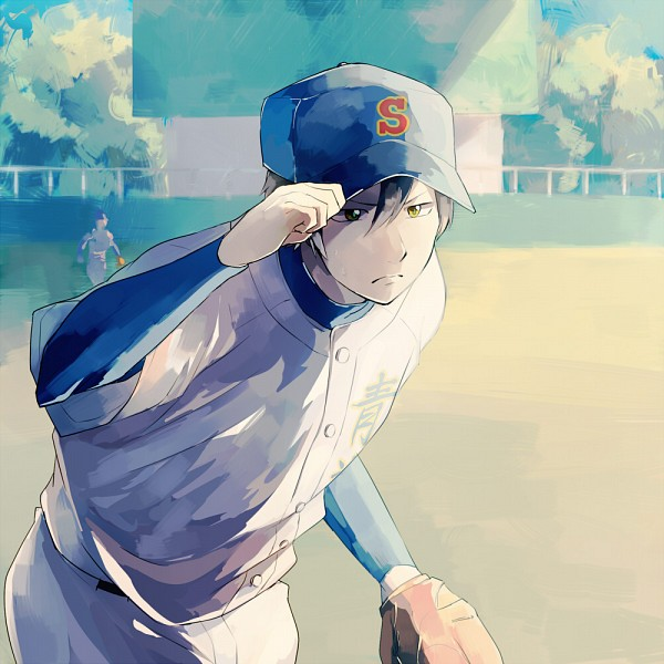 Manga Images Diamond No Ace Wallpaper And Background: Furuya Satoru/#1971998