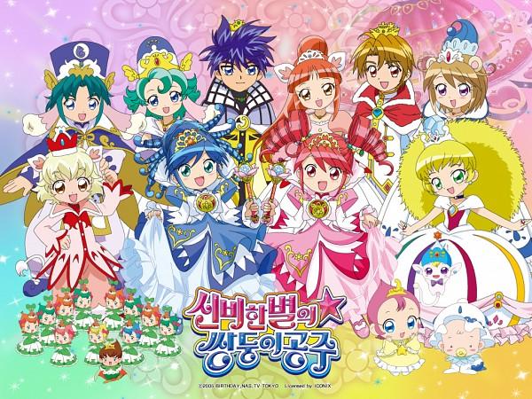Tags: Anime, Sisters, Fushigiboshi no☆Futagohime, Rein, Fine, Inumimi, Okamimimi
