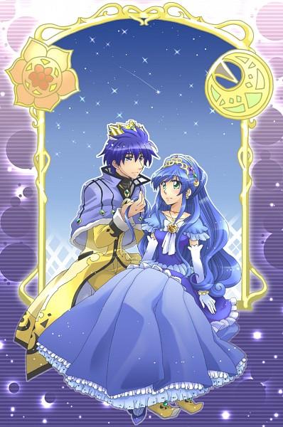 Tags: Anime, Princess, Fushigiboshi no☆Futagohime, Rein, Prince, Gown, Shade (futagohime)