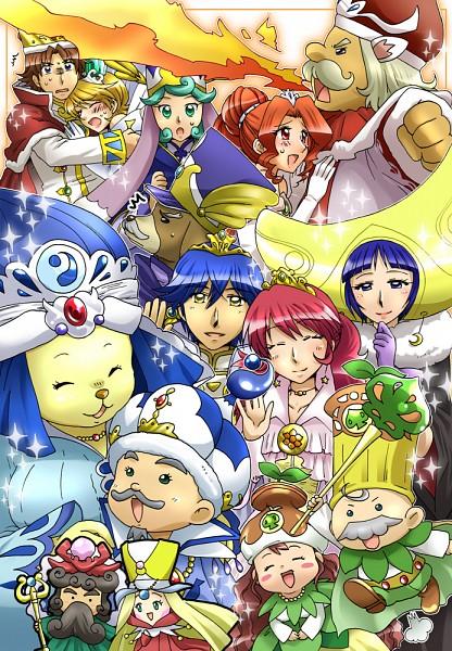 Tags: Anime, Queen, King, Anthro, Fushigiboshi no☆Futagohime, Dog, Yarmul