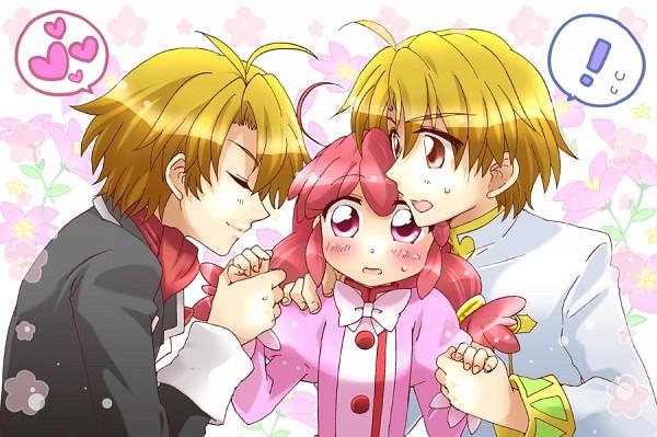 Tags: Anime, Embarrassed, Evil, Fushigiboshi no☆Futagohime, Fine, Bright (futagohime), Dark Persona