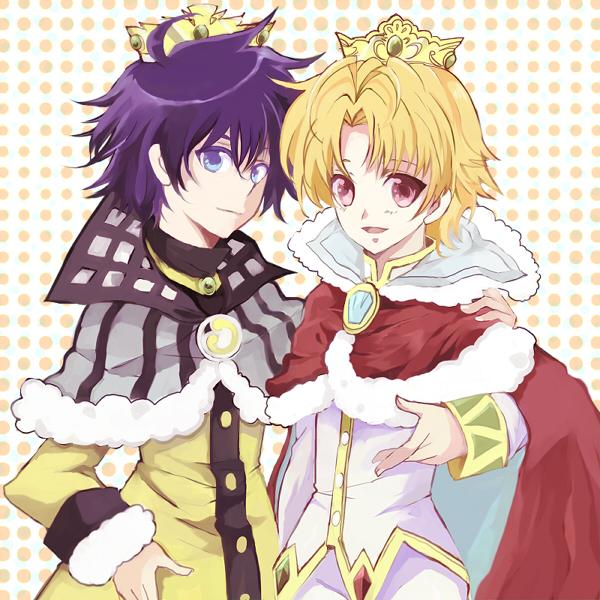 Tags: Anime, Spotted, Robe, Fushigiboshi no☆Futagohime, Prince, Bright (futagohime), Shade (futagohime)