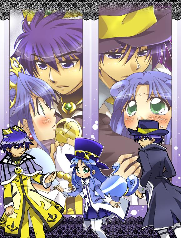 Tags: Anime, Princess, Fushigiboshi no☆Futagohime, Rein, Prince, Shade (futagohime), Pixiv Id 30394