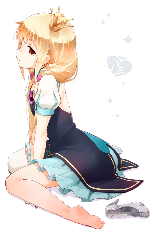 Tags: Anime, Nagian, THE iDOLM@STER: Cinderella Girls, Futaba Anzu, Mobile Wallpaper