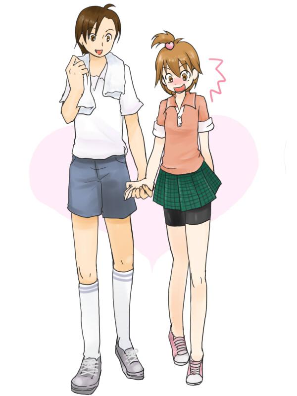 Tags: Anime, Pixiv Id 67672, Futari wa Precure, Fujimura Shougo, Misumi Nagisa, Pixiv