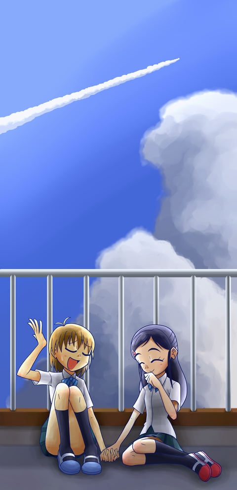 Tags: Anime, Pixiv Id 113445, Futari wa Precure, Misumi Nagisa, Yukishiro Honoka, Pixiv