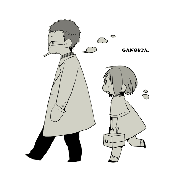 Tags: Anime, Kohsuke, GANGSTA., Dr. Theo, Nina (Gangsta.), Pixiv