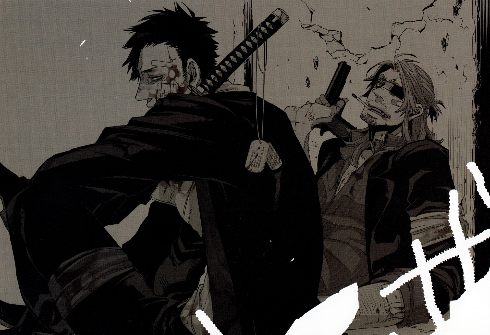 Nicolas Brown Gangsta (Seinen, Drama, Acción) Anime