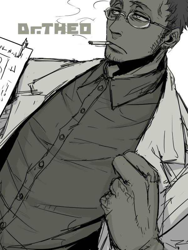 Tags: Anime, GANGSTA., Dr. Theo