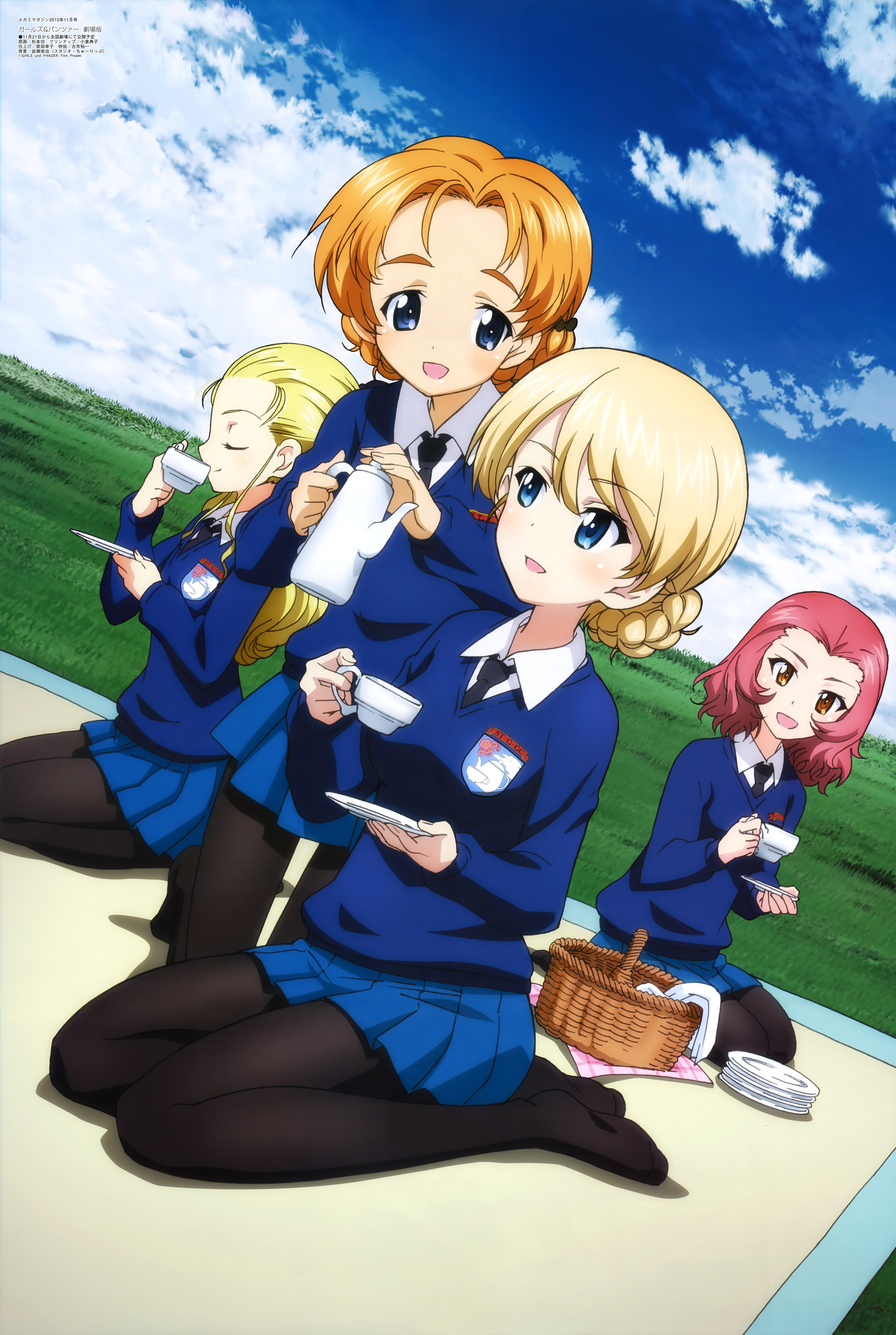 Darjeeling GIRLS und PANZER Mobile Wallpaper Zerochan Anime