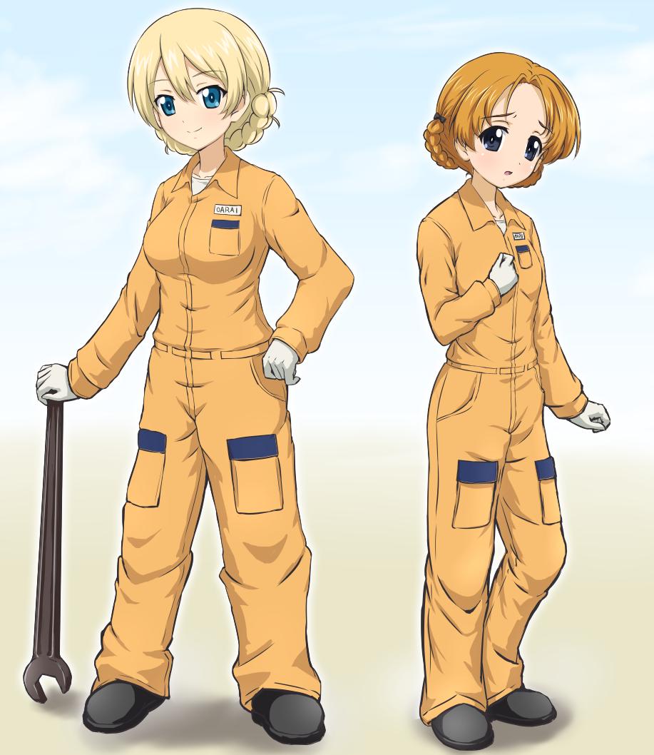 Anime Characters Jumpsuit : Girls und panzer zerochan