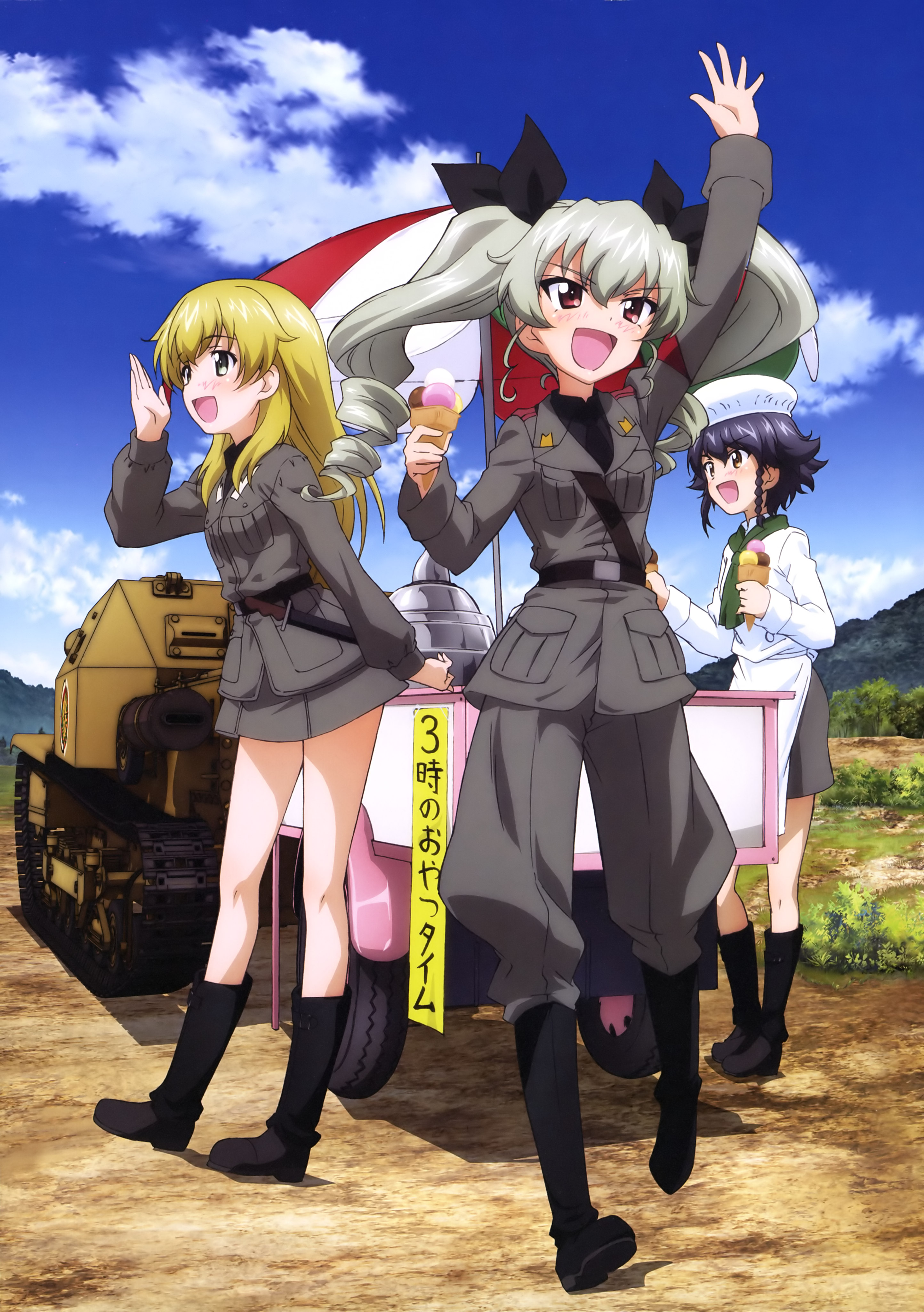 Carpaccio Girls Und Panzer - Zerochan Anime Image Board-3281