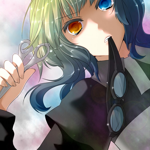 Tags: Anime, Vocaloid, GUMI, Mosaic Role, Momo Michi