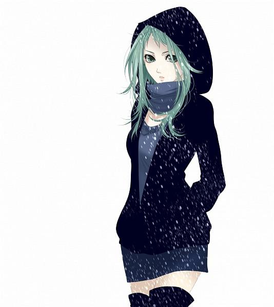 Tags: Anime, naoto (sandersoniahirahira), VOCALOID, GUMI, Flakes, Hood Up