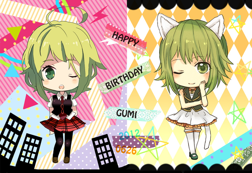 Gumi Vocaloid Image 1168201 Zerochan Anime Image Board
