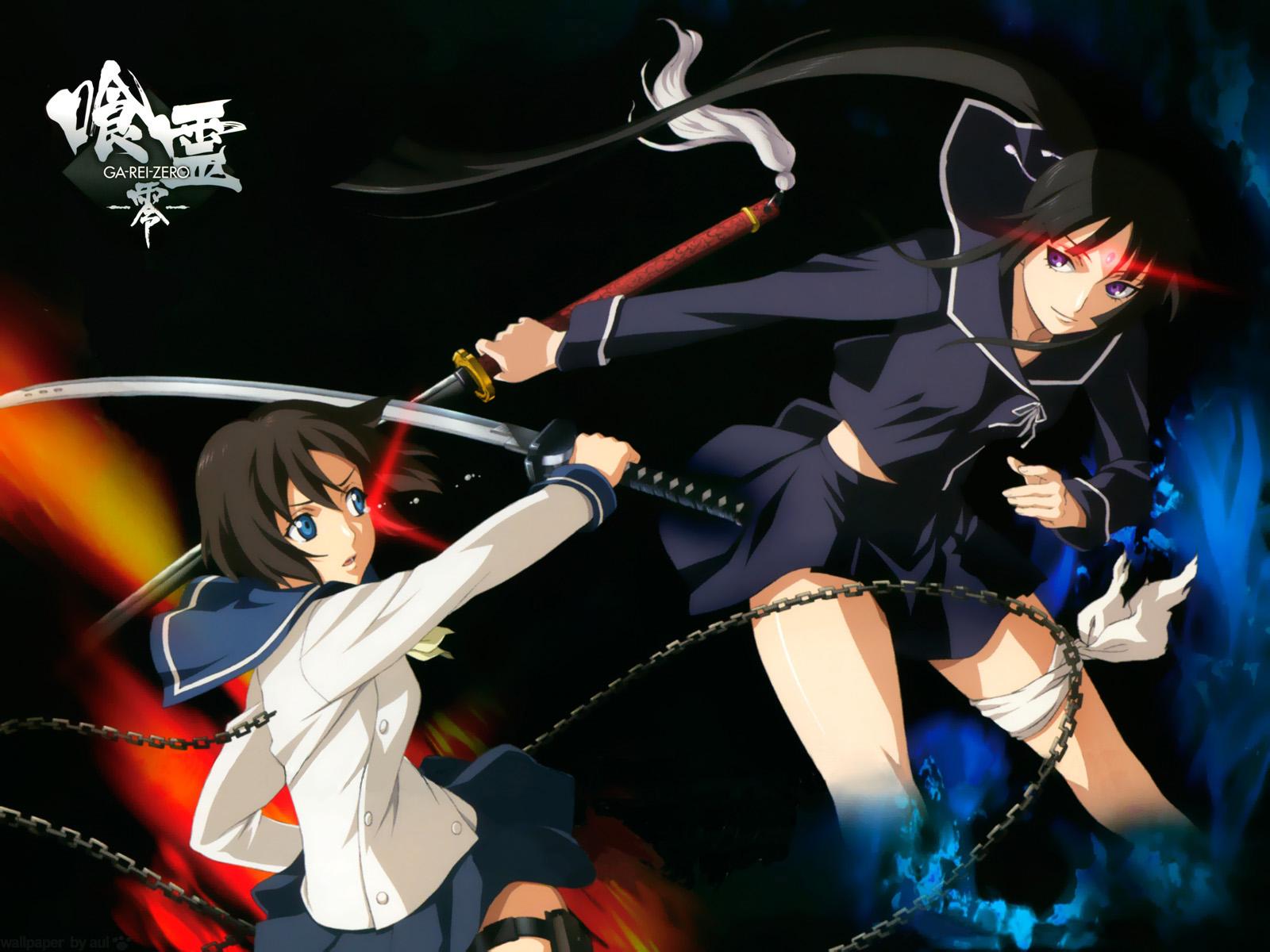 Ga-Rei Zero, Wallpaper - Zerochan Anime Image Board