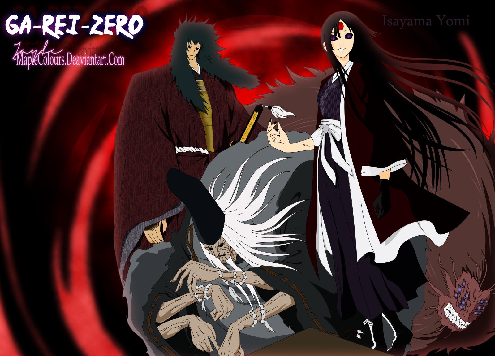 Ga-Rei Zero Wallpaper #1455726 - Zerochan Anime Image Board