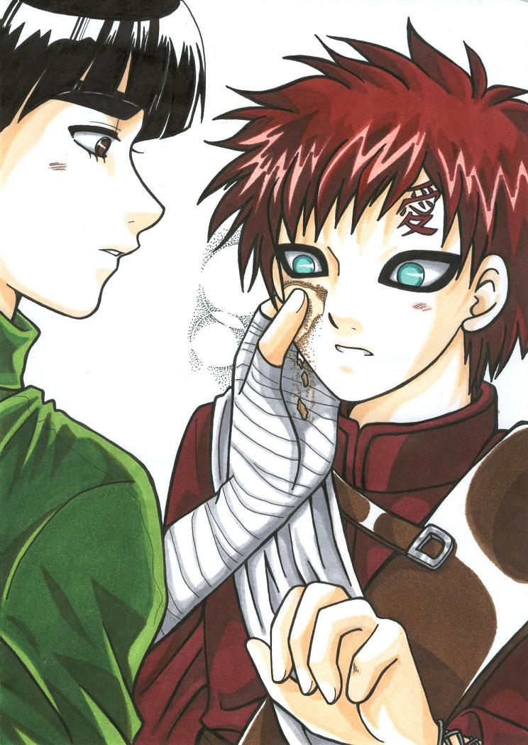 GaaLee - NARUTO - Image #66146 - Zerochan Anime Image Board Gaara And Lee