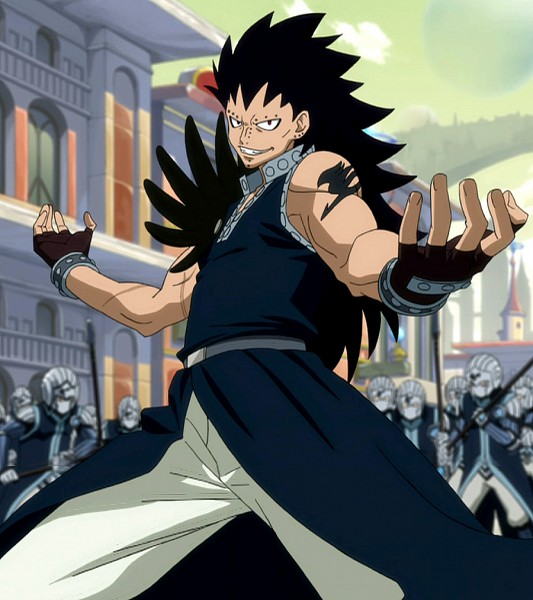 Tags: Anime, FAIRY TAIL, Gajeel Redfox, Sorcerer, Fight Stance