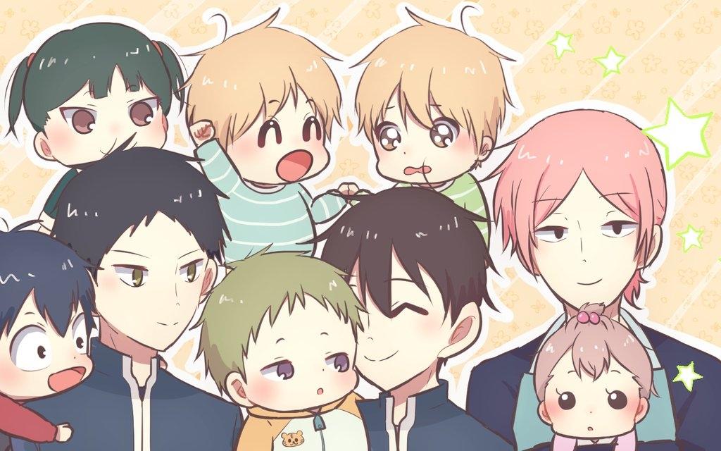 Gakuen Babysitters Tokeino Hari Zerochan Anime Image Board