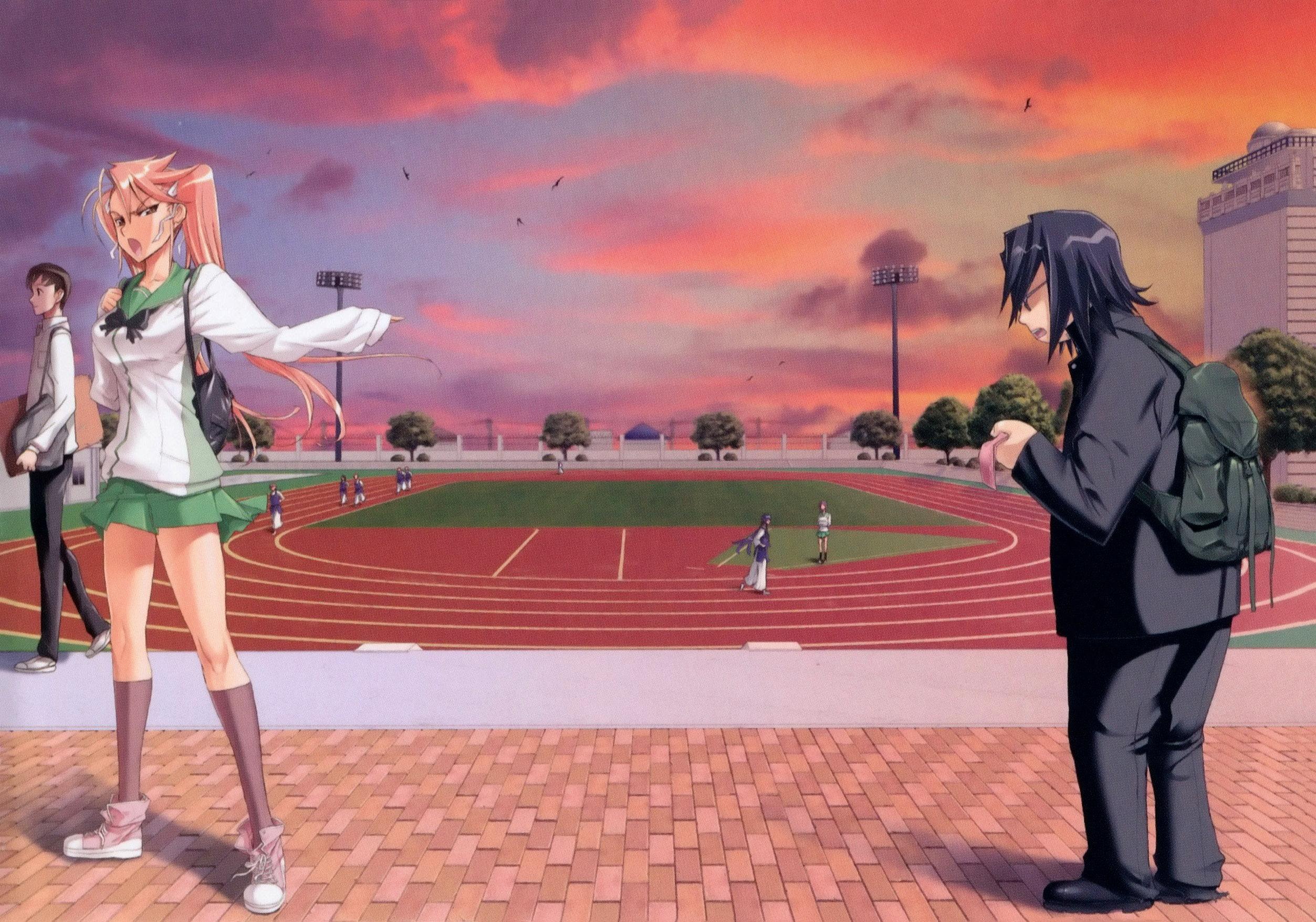 Download Gakuen Mokushiroku Highschool Of The Dead Image