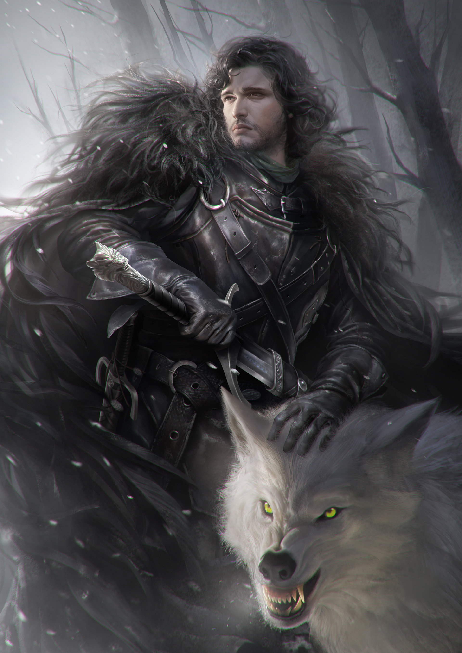 Jon Snow Mobile Wallpaper Zerochan Anime Image Board Mobile