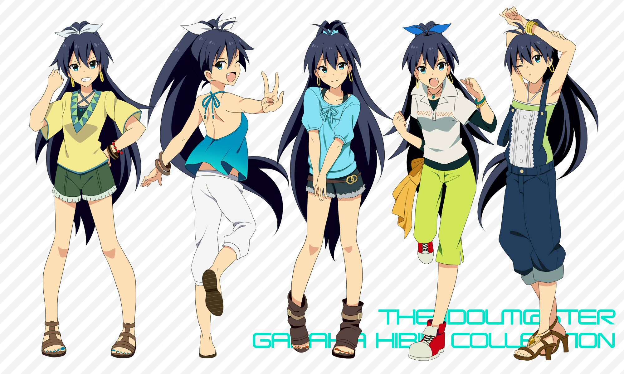 Idol M Ster Anime Characters : Ganaha hibiki the idolm ster wallpaper