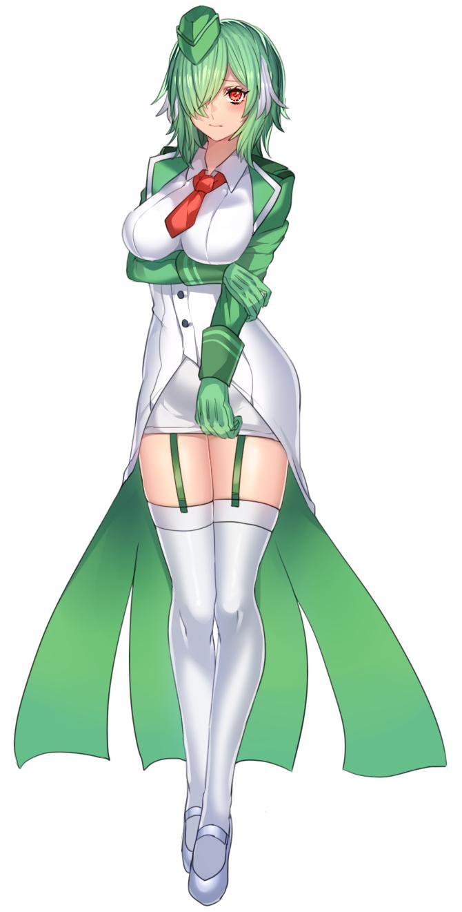 Tags: Anime, Katagiri (Nirugiri), Pokémon, Gardevoir, Green Handwear, Green Gloves, PNG Conversion, Twitter, Fanart