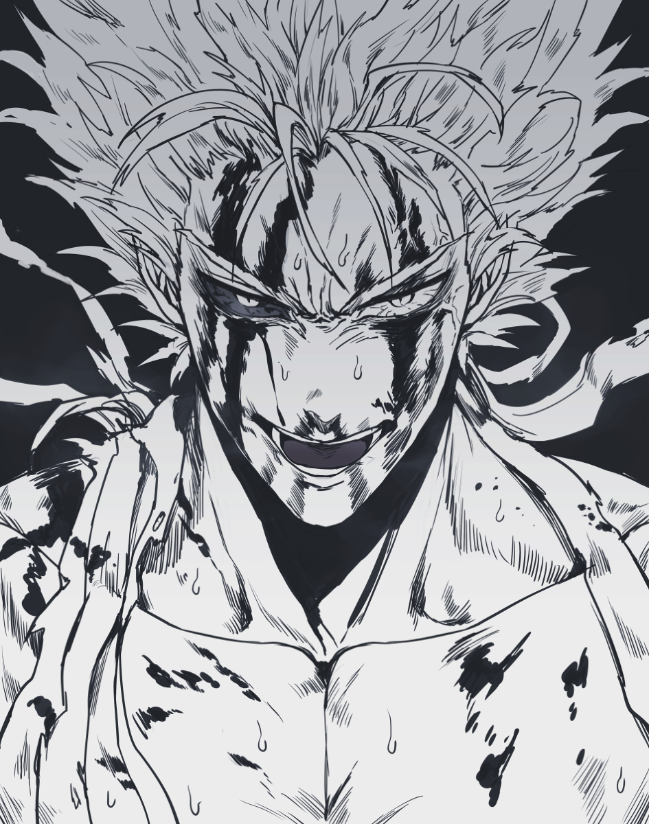 Garou One Punch Man Zerochan Anime Image Board