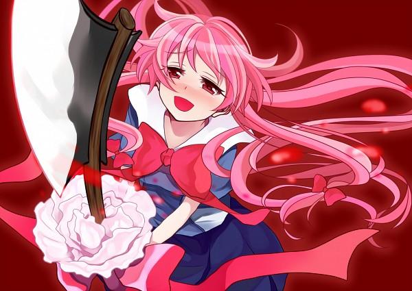 Mirai Nikki Gasai Yuno Yandere Anime Anime Girls: Gasai Yuno/#974838