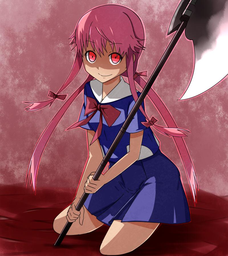 Gasai Yuno - Mirai Nikki | page 13 of 35 - Zerochan Anime ...