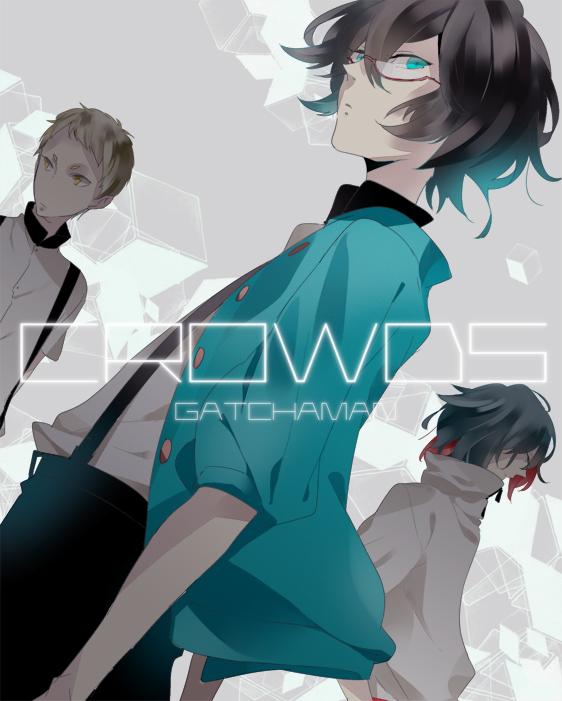 Tags: Anime, Cdcdcdr, Gatchaman Crowds, Tachibana Sugane, Hibiki Joe, Ninomiya Rui, Pixiv
