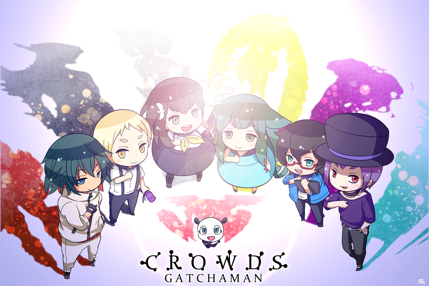 gatchaman crowds a· download gatchaman crowds image