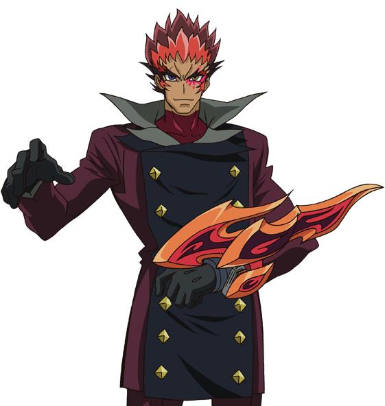 Tags: Anime, Studio Gallop, Yu-Gi-Oh!, Yu-Gi-Oh! ZEXAL, Gauche (Yu-Gi-Oh! ZEXAL), Duel Disk, High Collar