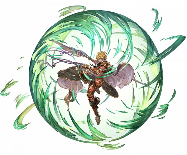 Tags: Anime, Minaba Hideo, Cygames, Granblue Fantasy, Gawain (Granblue Fantasy), Transparent Background