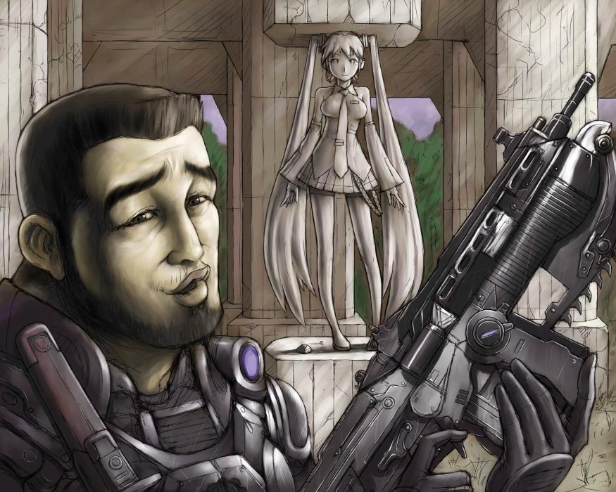 gears of war zerochan anime image board
