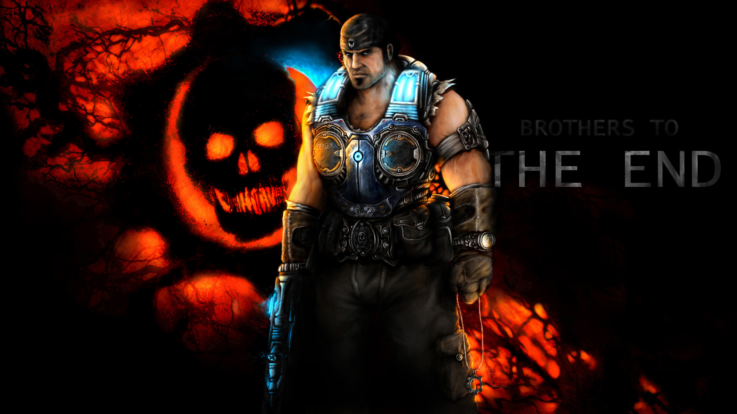 Gears Of War Hd Wallpaper 880145 Zerochan Anime Image Board