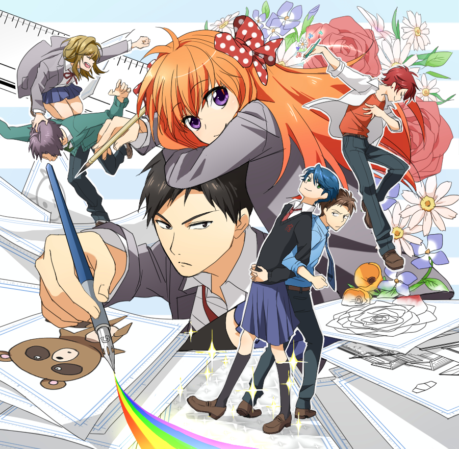 [ARTICLE][TOP 5] Les Mangas/Animes les plus drôles Gekkan.Shoujo.Nozaki-kun.full.1759237