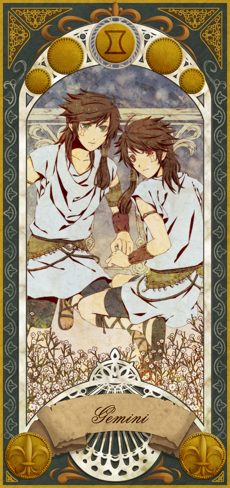 Gemini - Zodiac - Image #1026707 - Zerochan Anime Image Board