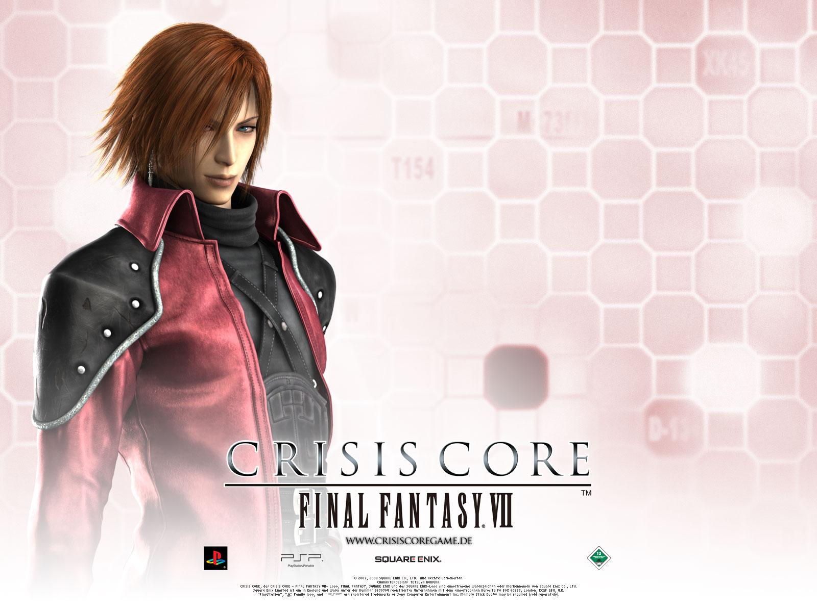 Genesis Rhapsodos Crisis Core Final Fantasy Vii Wallpaper