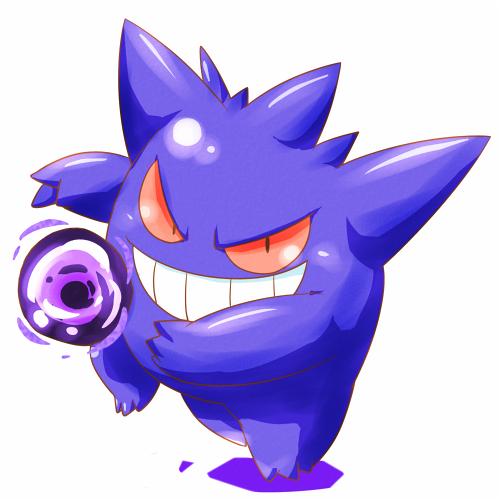 Gengar - Pokémon - Image #2026680 - Zerochan Anime Image Board