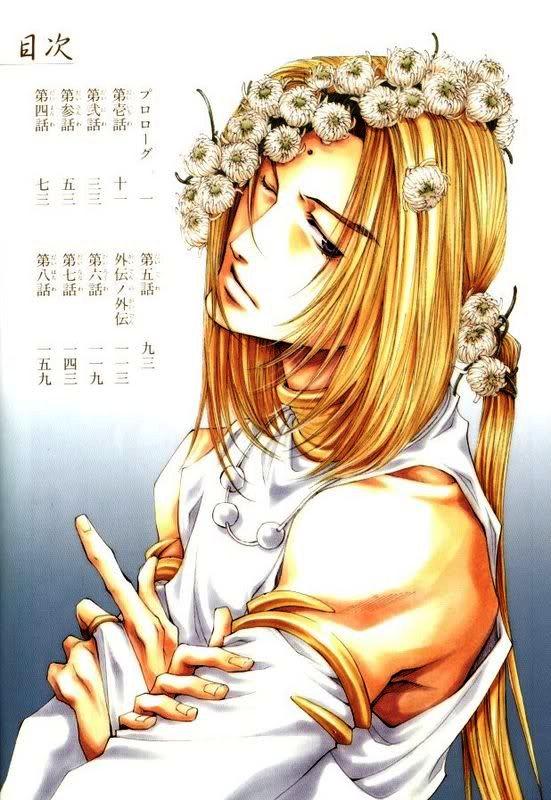 Tags: Anime, Minekura Kazuya, Saiyuki, Saiyuki Gaiden, Konzen Douji, Genjyo Sanzo, Mobile Wallpaper