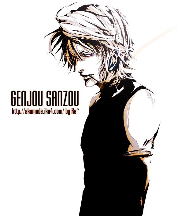 Tags: Anime, Re°, Saiyuki, Genjyo Sanzo, Fanart