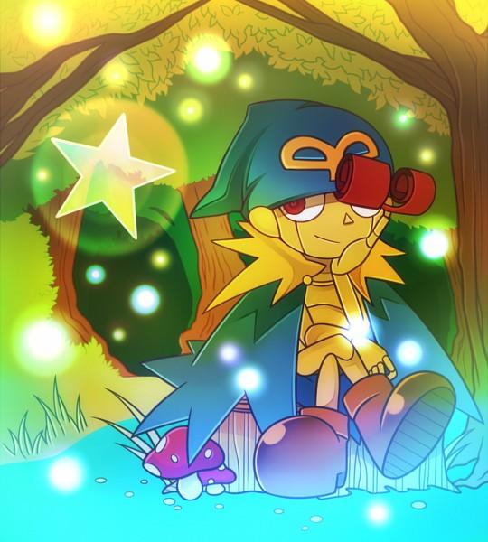 Tags: Anime, Pixiv Id 1845342, Nintendo, Super Mario Rpg, Super Mario Bros., Geno (Super Mario RPG), Mushroom