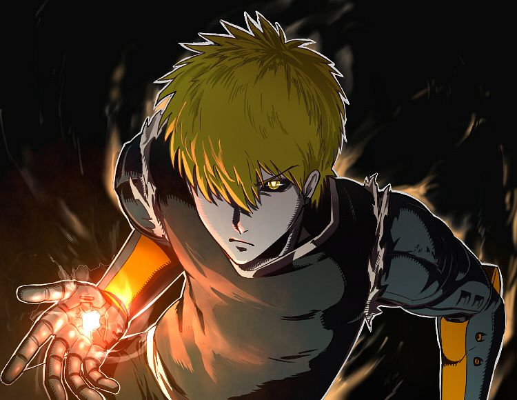 Tags: Anime, Pixiv Id 78895, One Punch Man, Genos (One Punch Man), Cyborg, Black Sclera