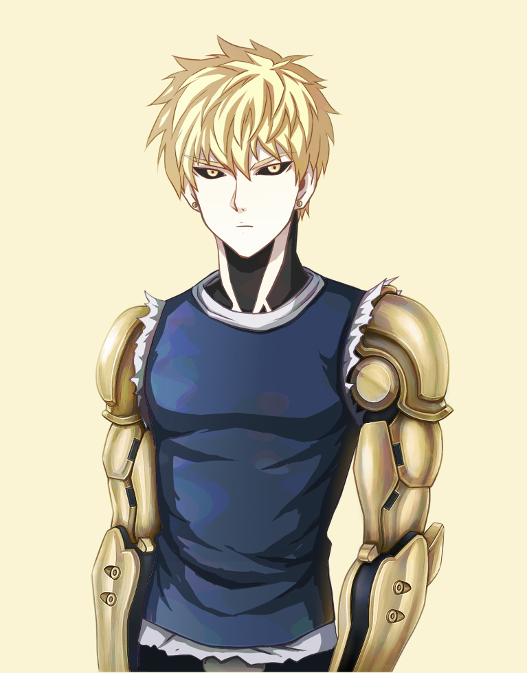 one punch man genos - photo #5