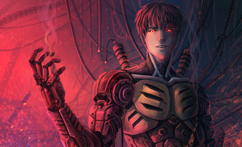 Genos One Punch Man Image 1699867 Zerochan Anime Image